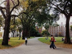 Brown University's Main Green